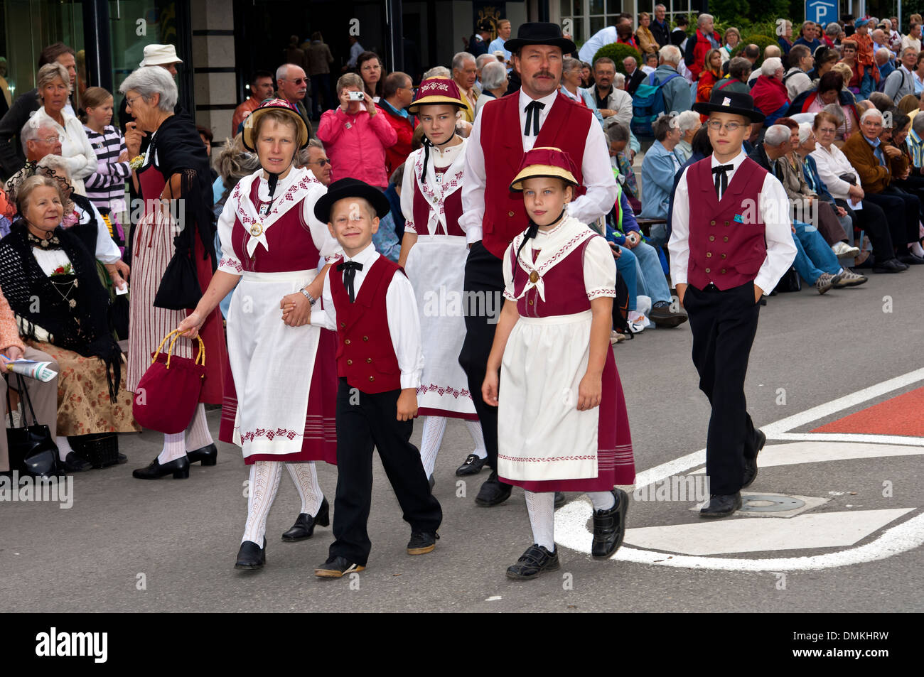 What is the name of Switzerland's national costume?