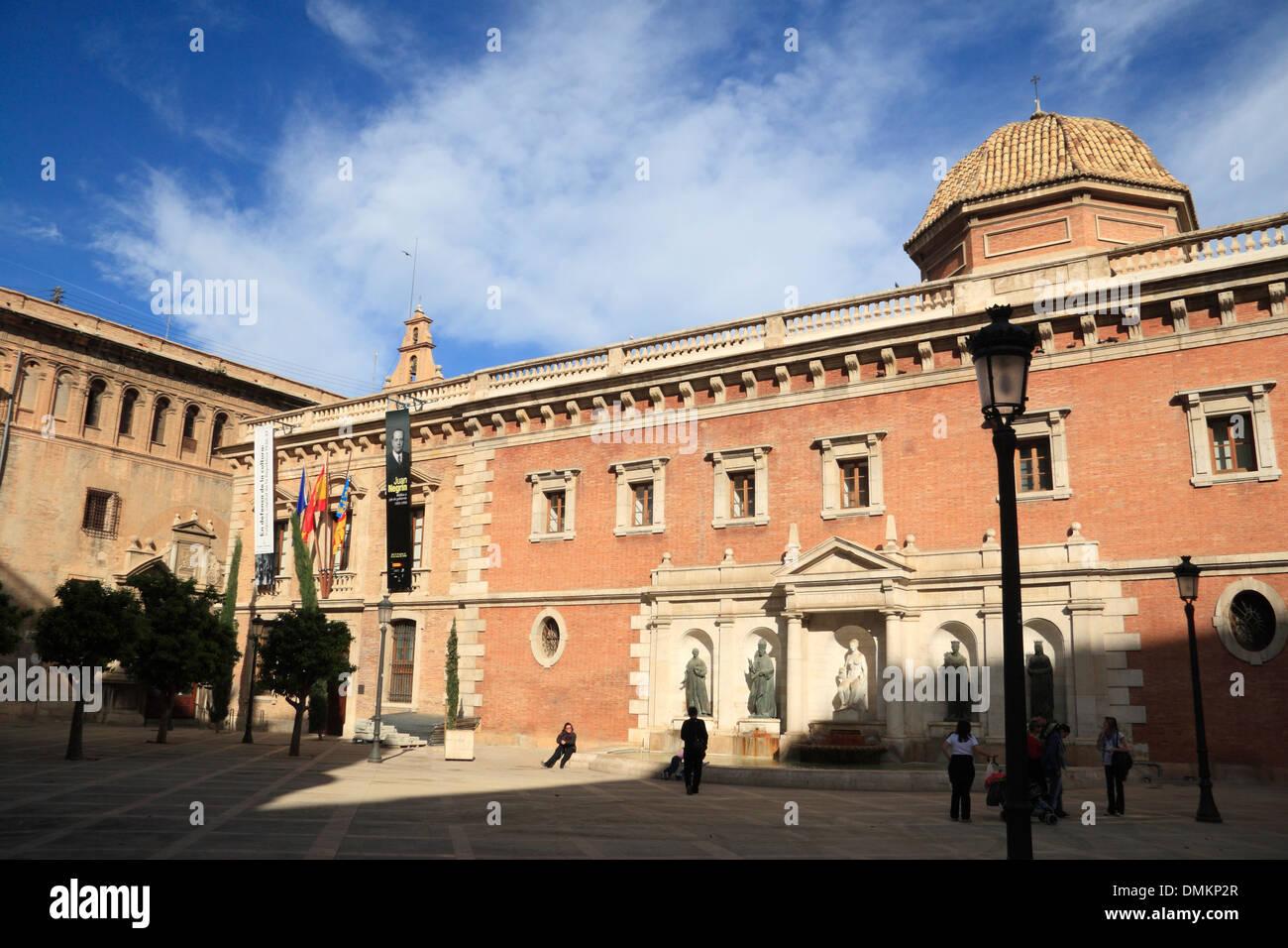 Universidad Literaria, Valencia, Spain, Europe - Stock Image