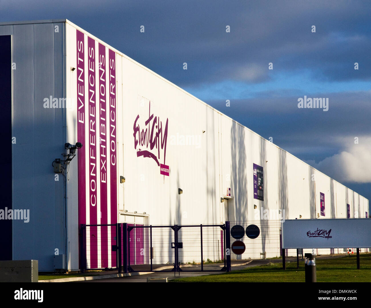 Event City (large venue for Events, Conferences, Exhibitions, Concert) adjacent to the Trafford Centre, Trafford Manchester, UK - Stock Image