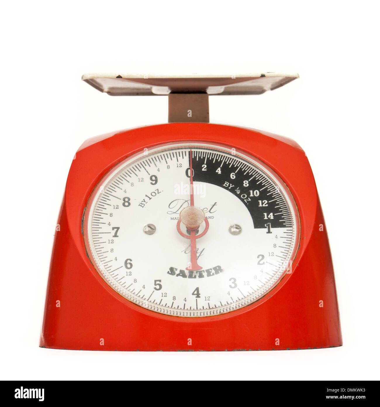 Vintage 1960's Salter 'Duet' manual kitchen weighing scales - Stock Image