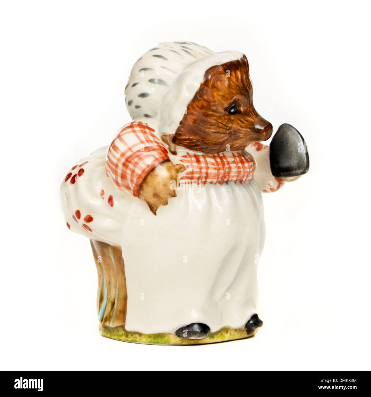 Vintage Beswick porcelain figure 'Mrs Tiggy Winkle' from the Beatrix Potter series (1970-1982 period) - Stock Image