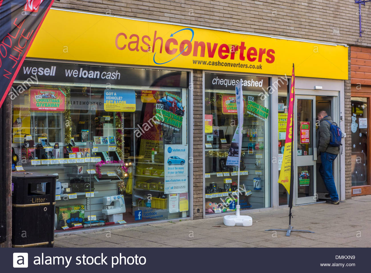 cash converters loan and second hand shop and pawnbrokers in huntingdon DMKXN9 Debt settlement