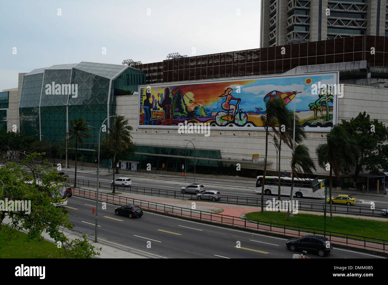 ed7689625ee Rio Sul shopping mall on Rua Lauro Muller in Rio de Janeiro in Brazil. It  has eight floors and 400 shops.
