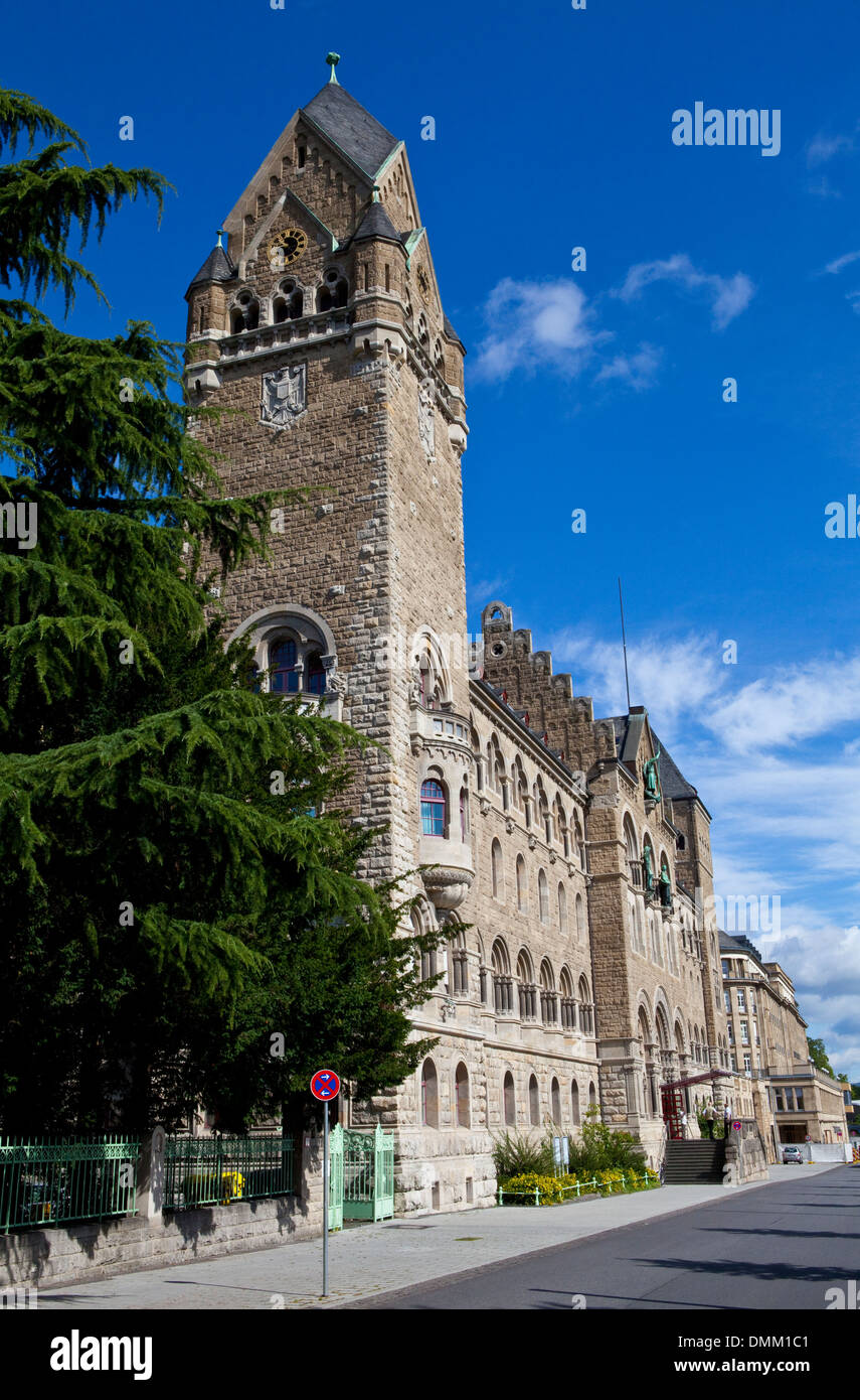 The Federal Ministry of Defence Building in Koblenz, Germany. - Stock Image