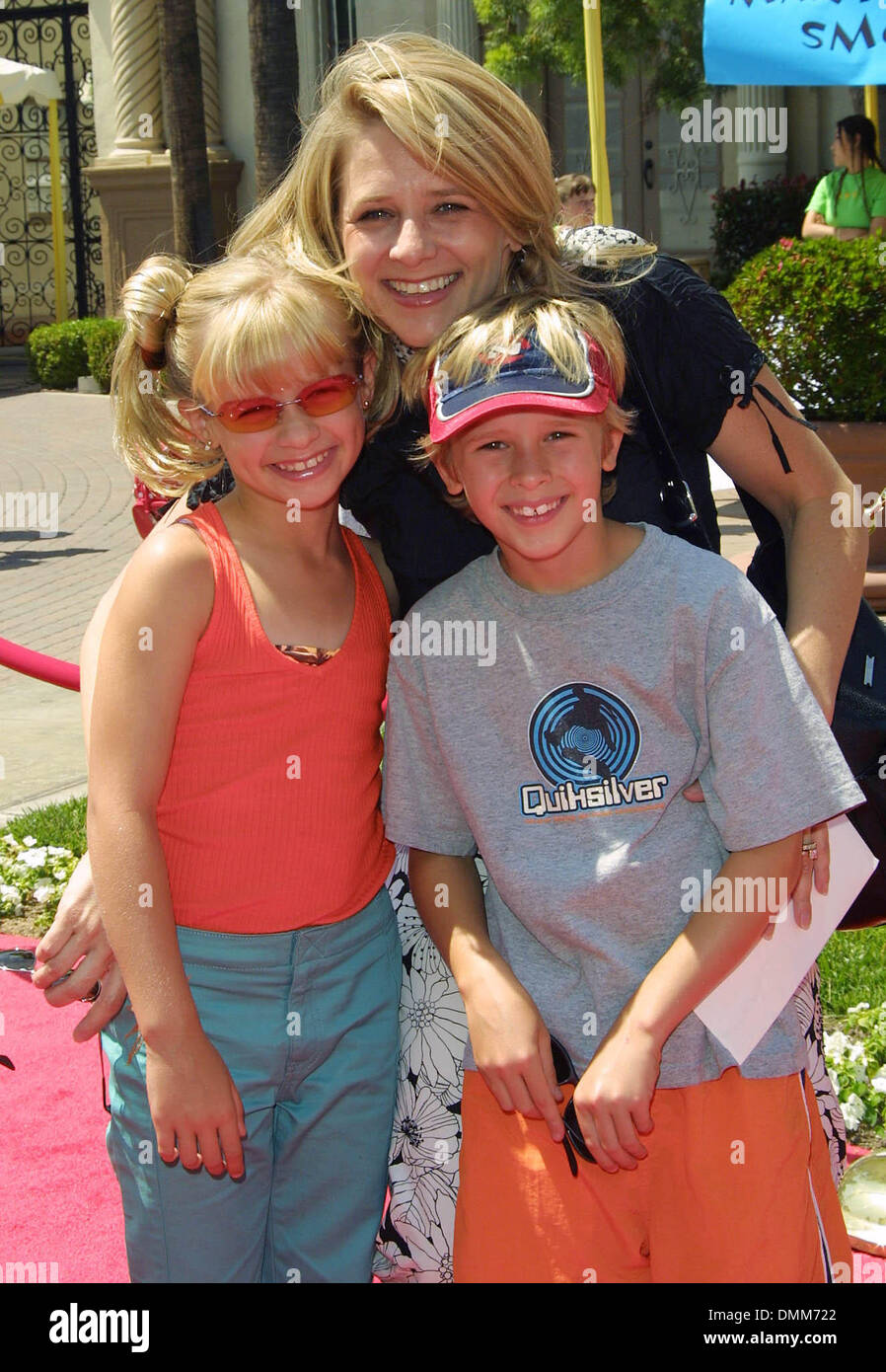 June 24 2002 Hollywood California Usa Cayden Boyd And His