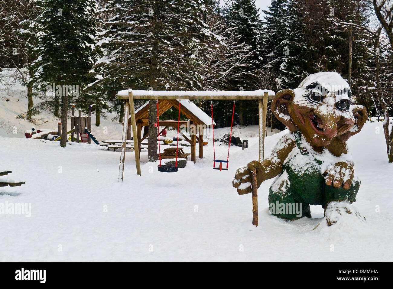 Norwegian troll - Stock Image