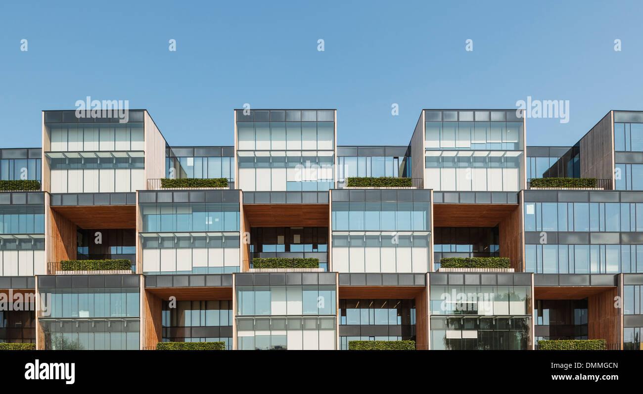 Pixel Building Allegro HQ, Poznan, Poland. Architect: JEMS Stock ...