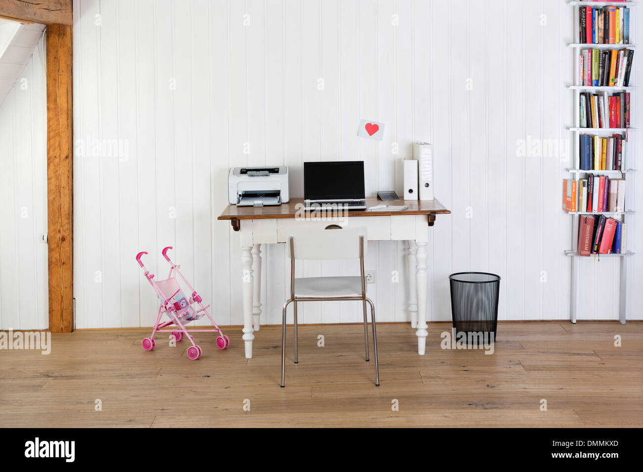 tidy office. Tidy Home Office - Stock Image N
