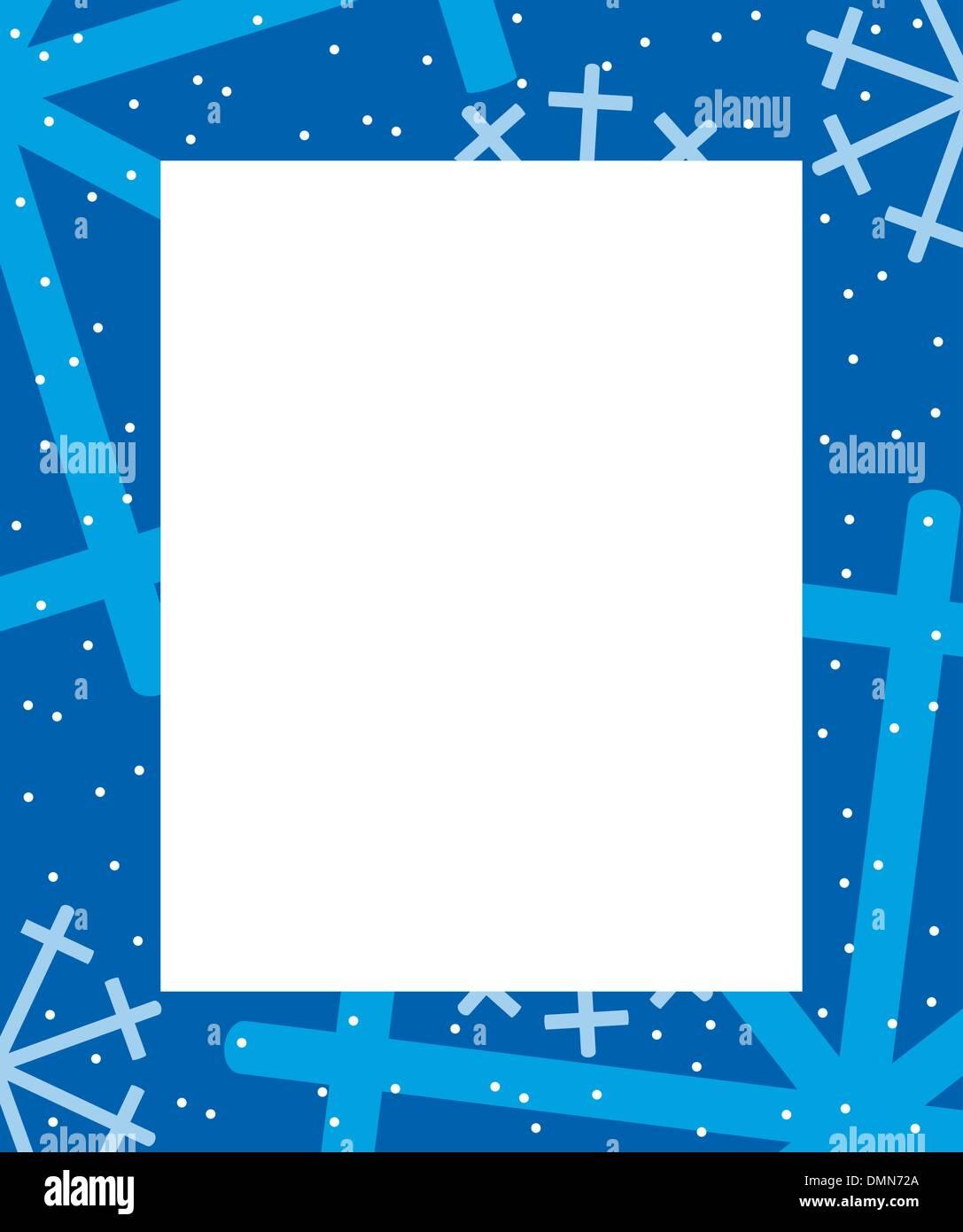 5e376456d81b Frame winter. - Image ID  DMN72A. Frame winter Stock Vector