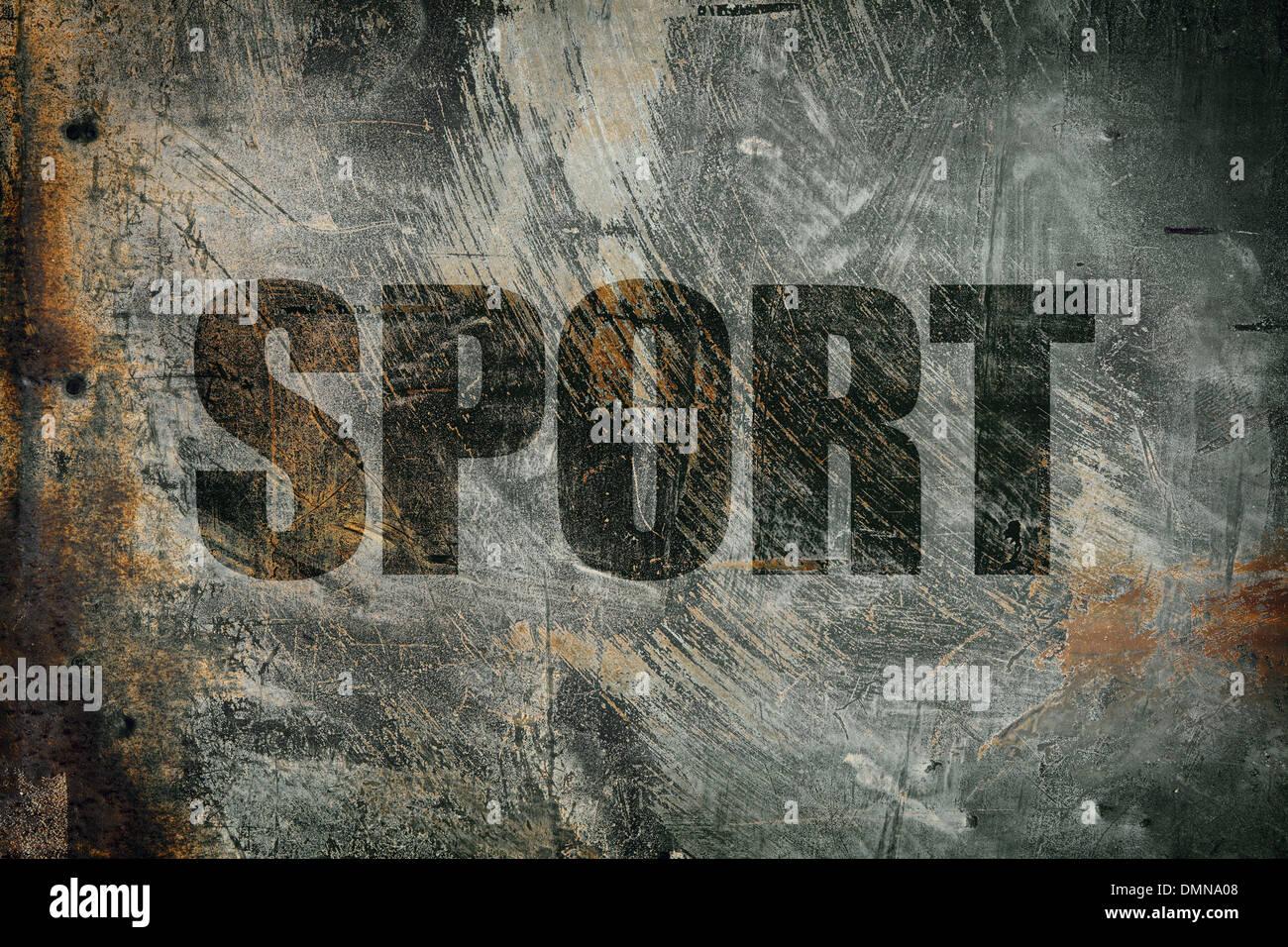 sport - Stock Image