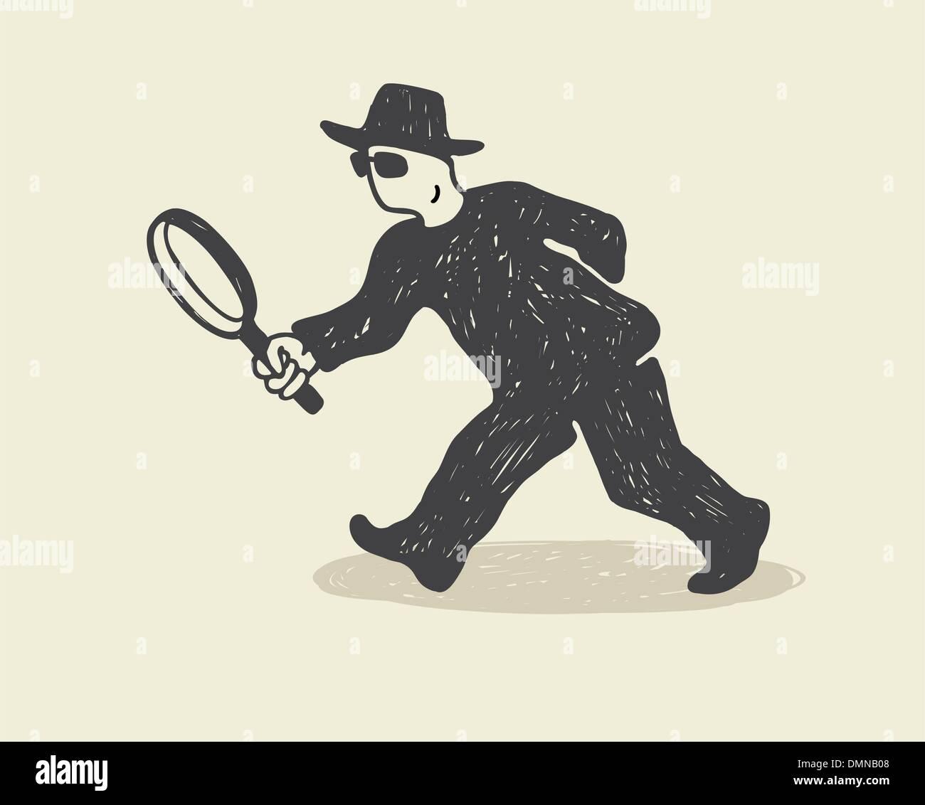 Detective - Stock Image