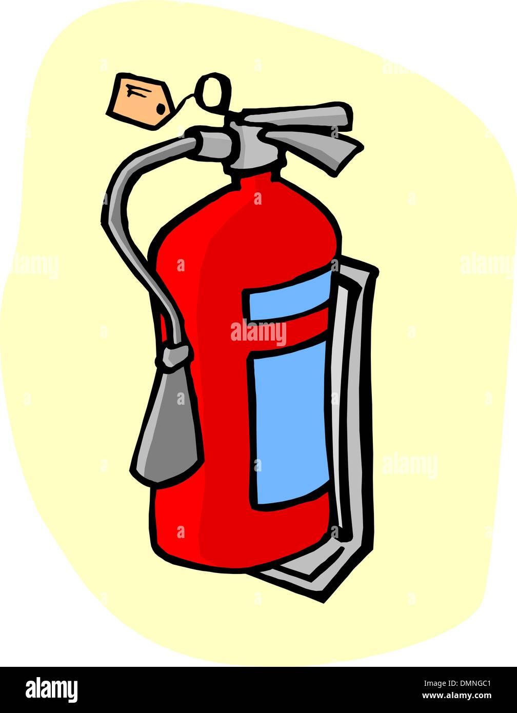 Fire extinguisher - Stock Vector
