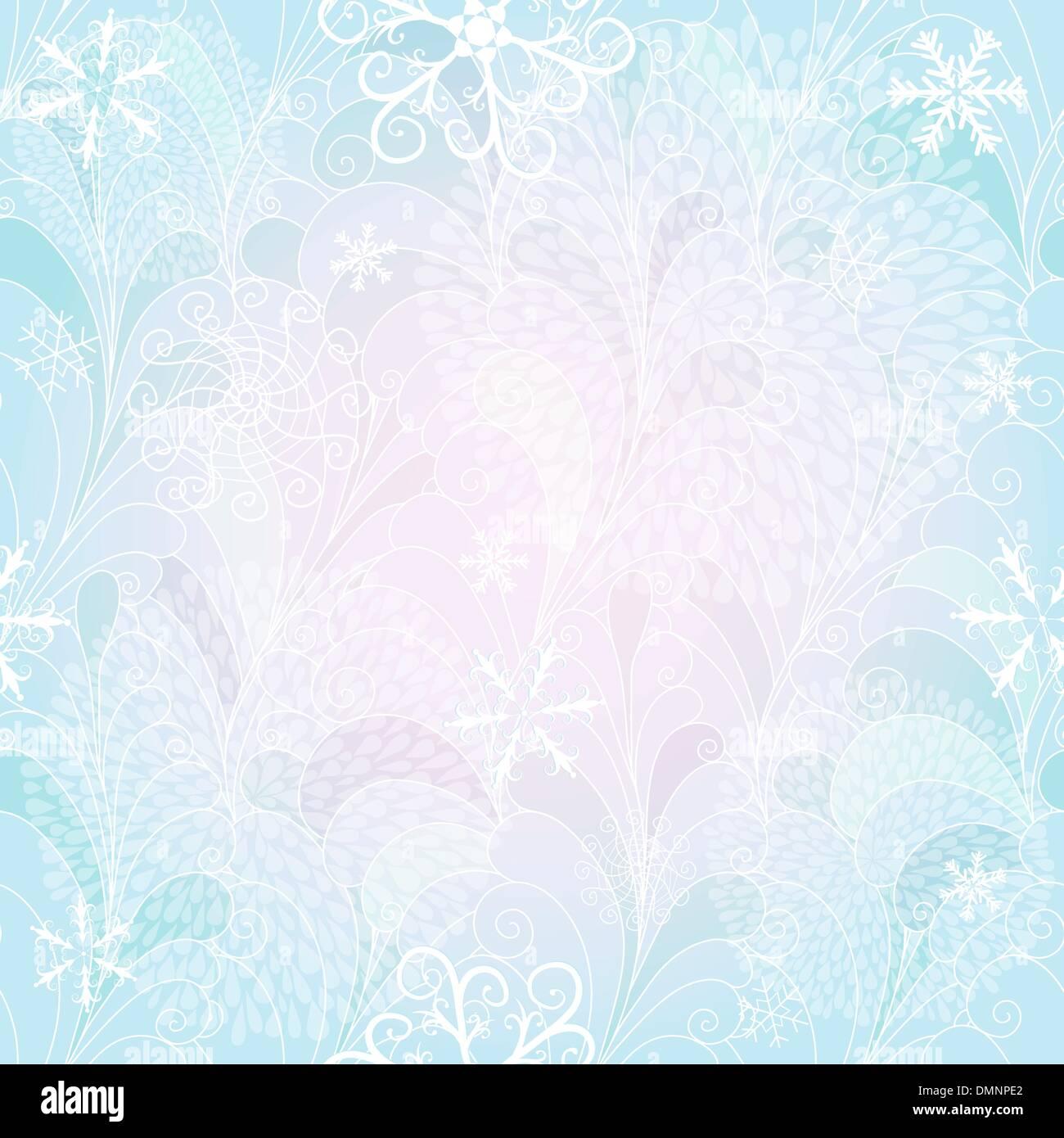 Seamless christmas gentle pattern - Stock Image