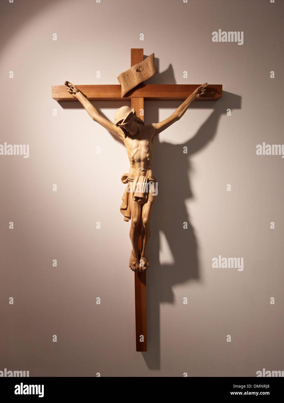 Jesus Christ religion Christian Christianity holy spirit faith bible worship - Stock Image