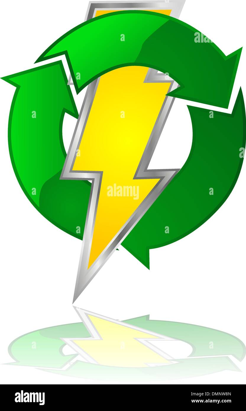 Reusable energy - Stock Image