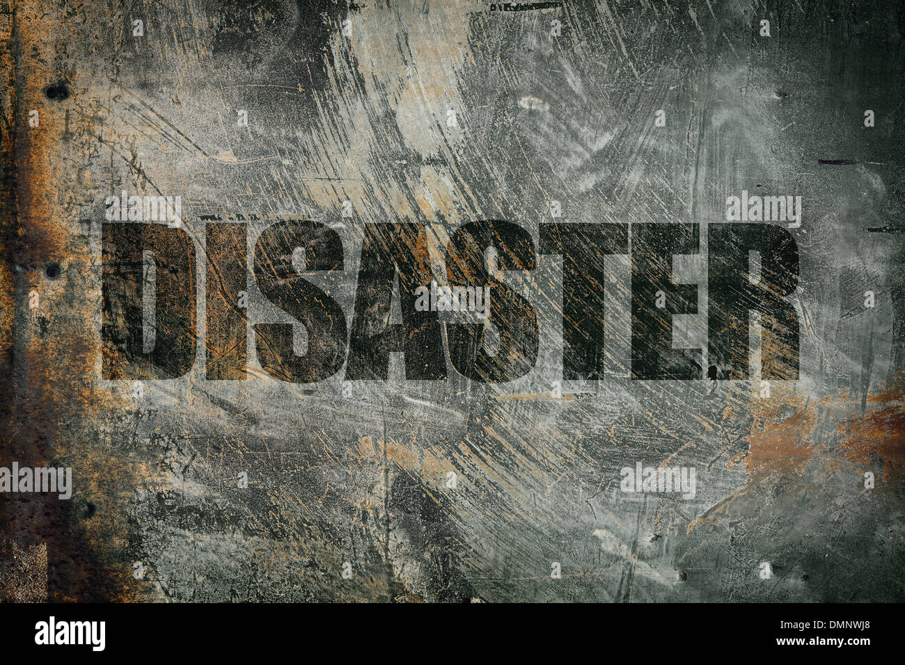 disaster - Stock Image