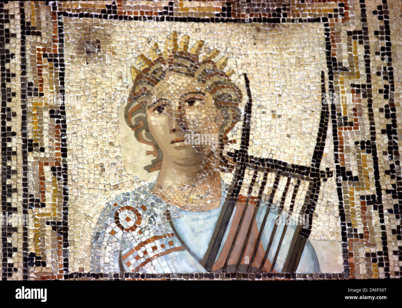 Orpheus Playing His Lyre