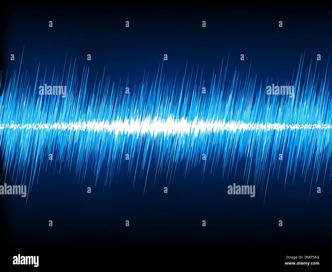 Radio Waves Diagram Stock Photos Images Radiowavesdiagram Sound Oscillating On Black Background Eps 8 Image