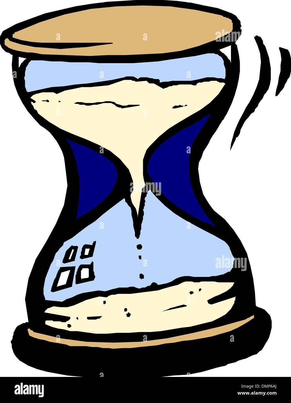 Hourglass - Stock Image