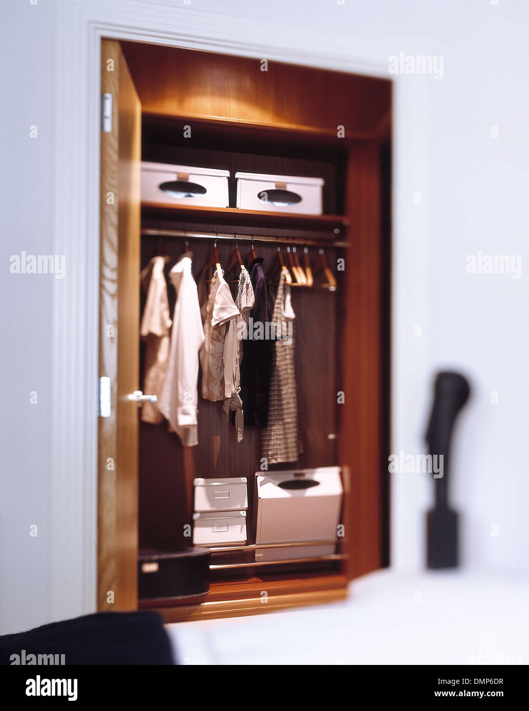 Built-in Bedroom Wardrobe Stock Photo: 64412259 - Alamy