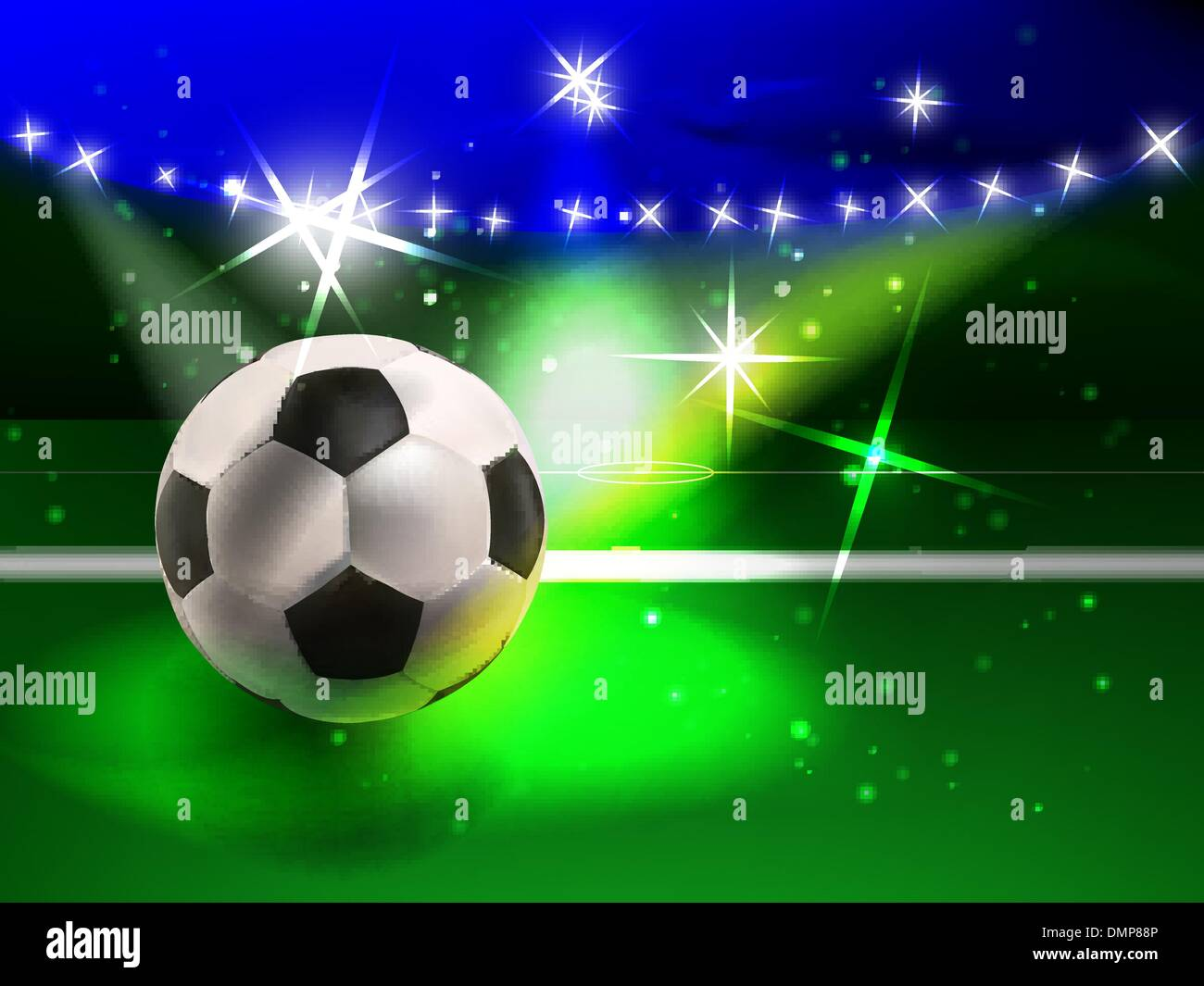 football spectacle - Stock Vector