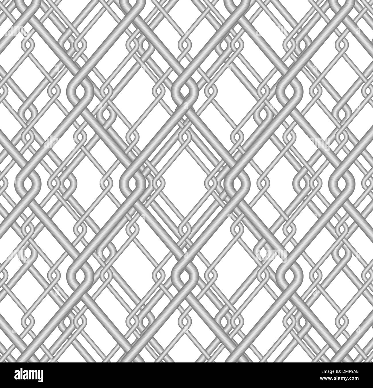 Galvanized Wire Mesh Stock Vector Images - Alamy