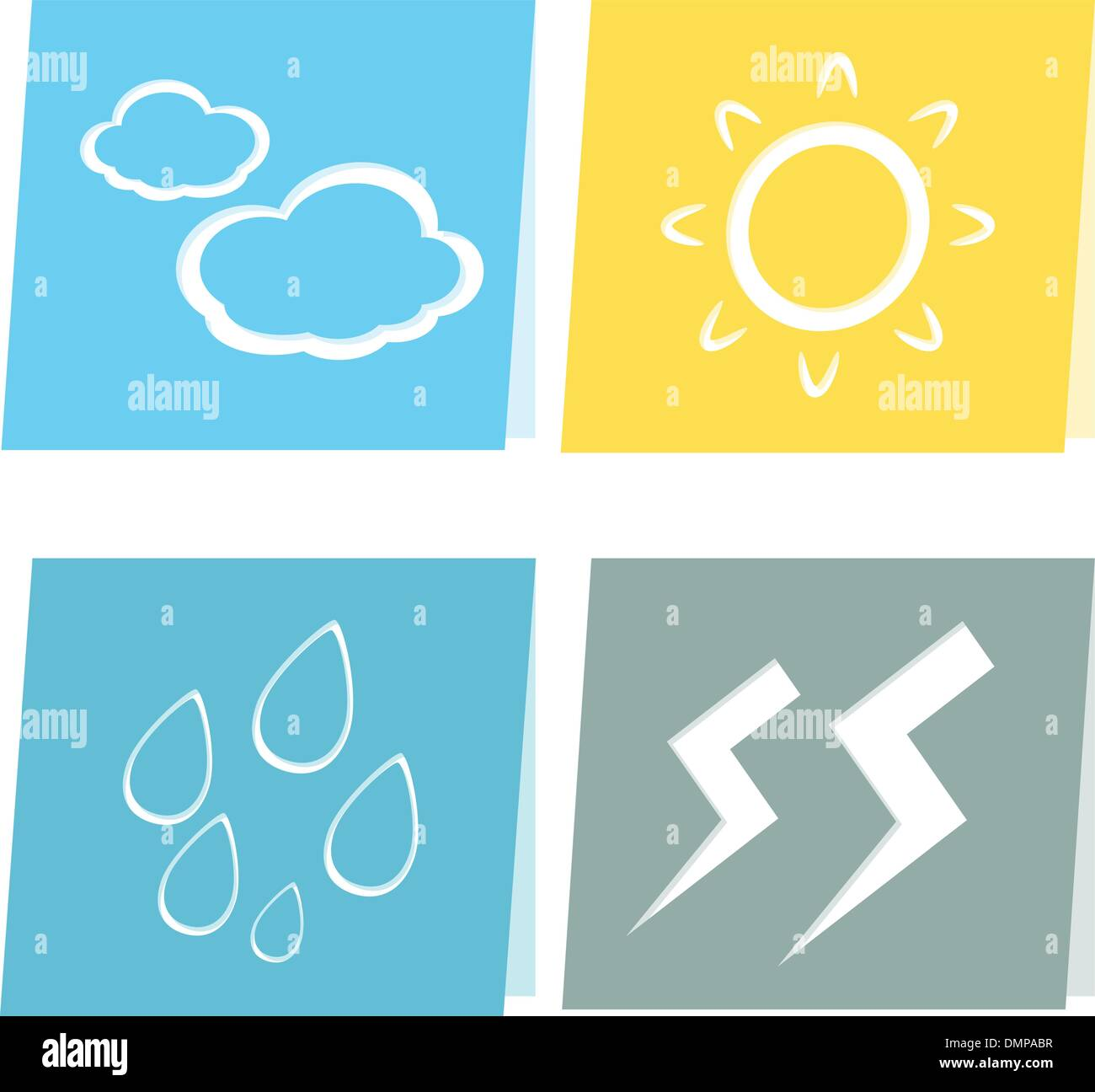 weather icon illustration - Stock Vector