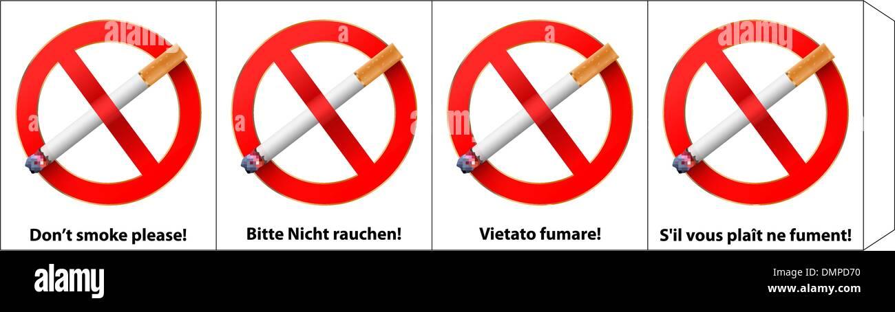 no smoking - Stock Image