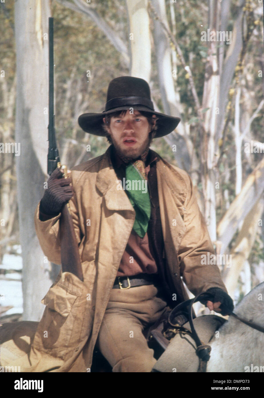 NED KELLY 1970 United Artists film with Mick Jagger - Stock Image