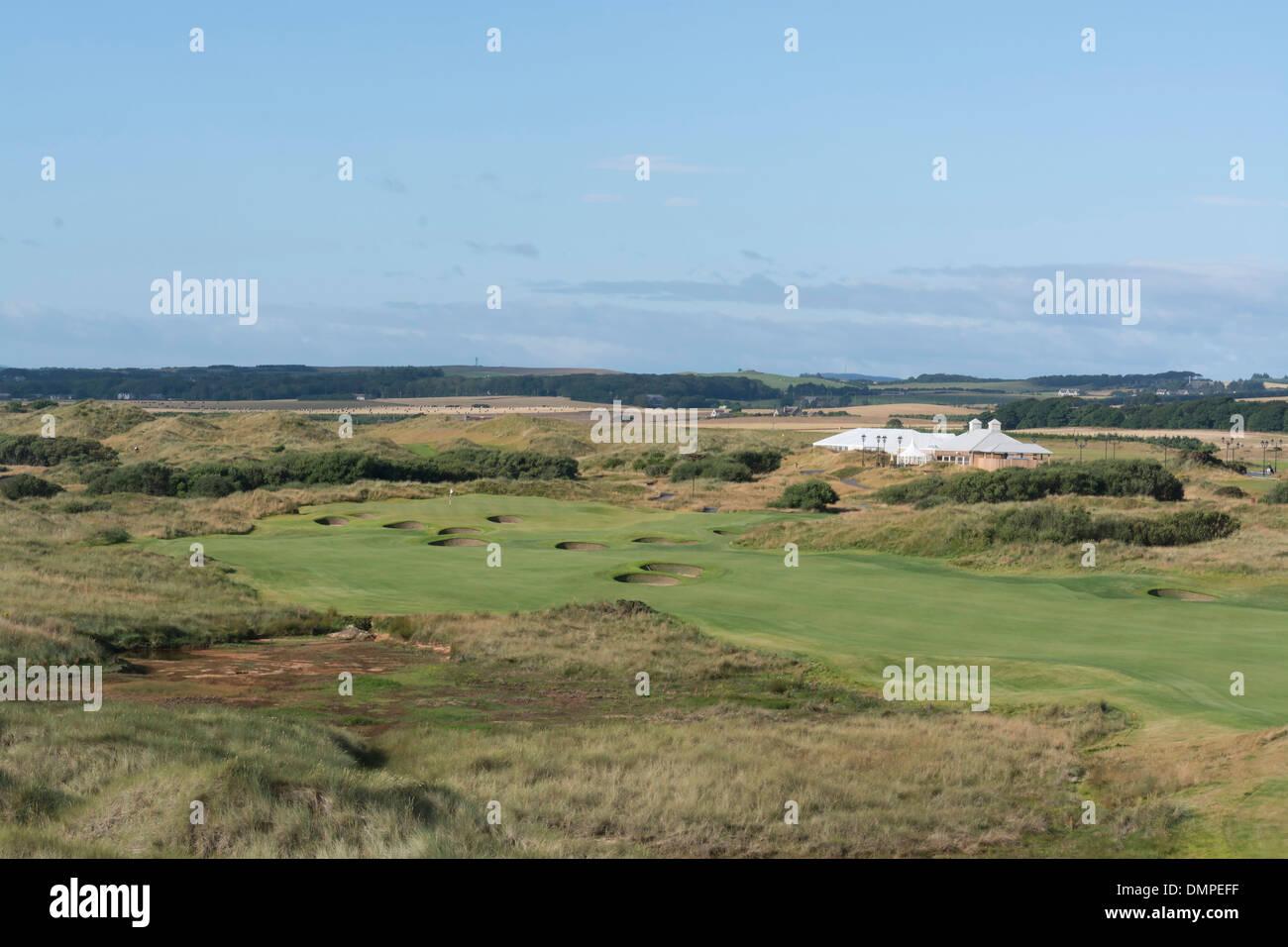 trump international golf course controversy - Stock Image