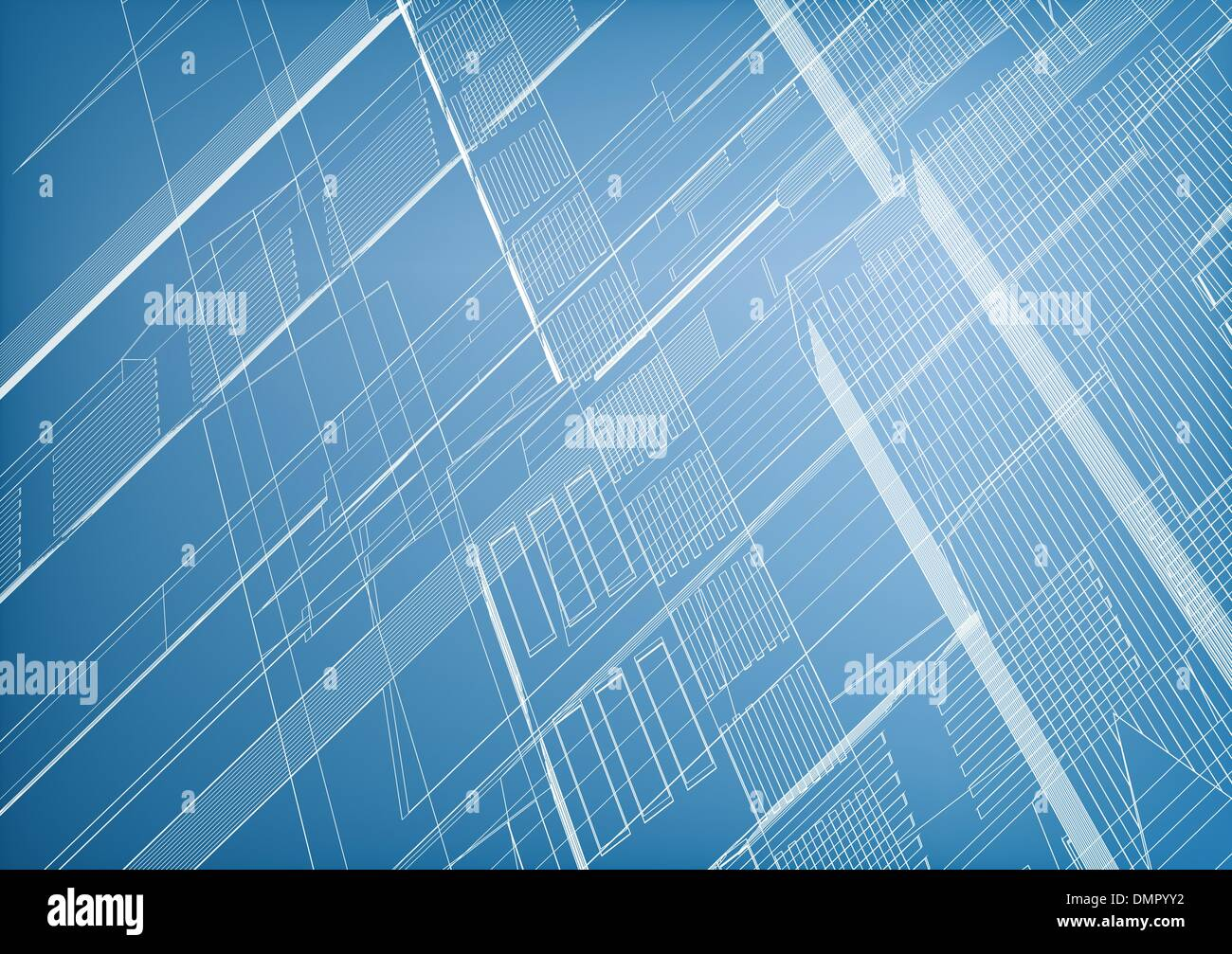 Lined abstract - Stock Image