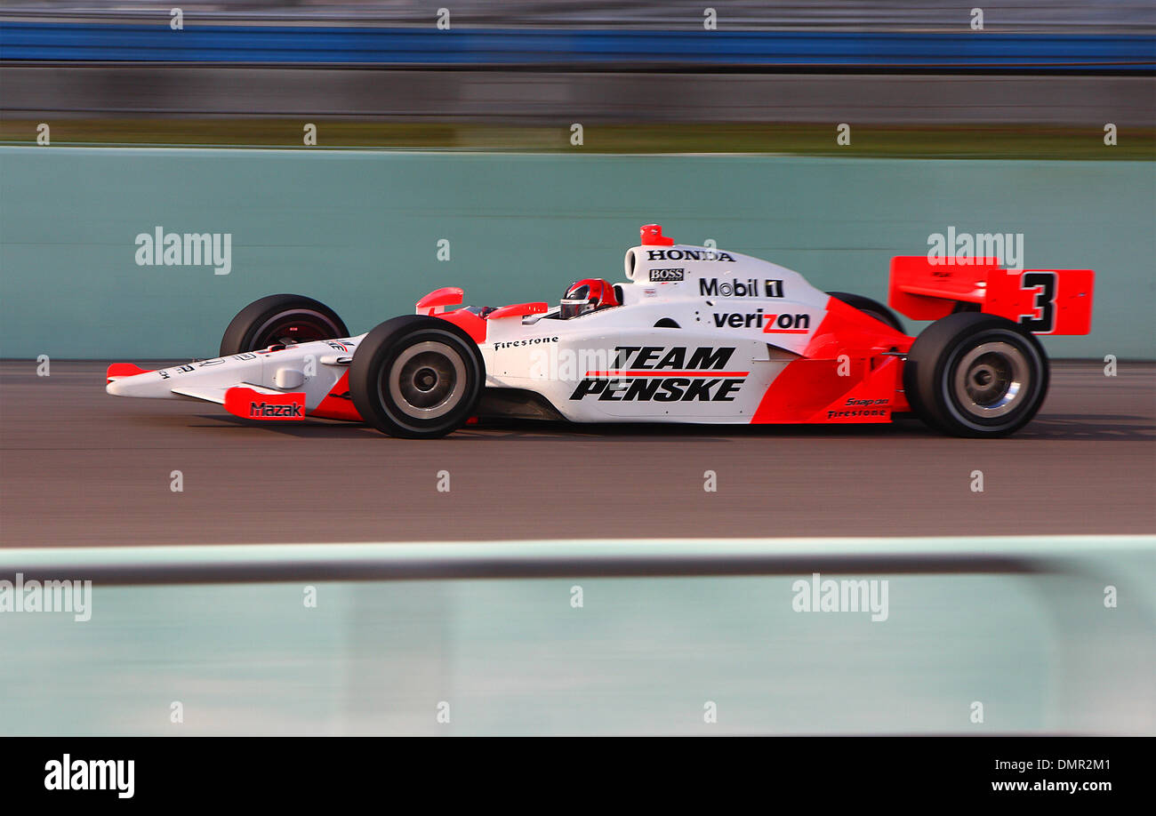IRL driver Helio Castroneves (#3) during the Firestone Indy 300 at