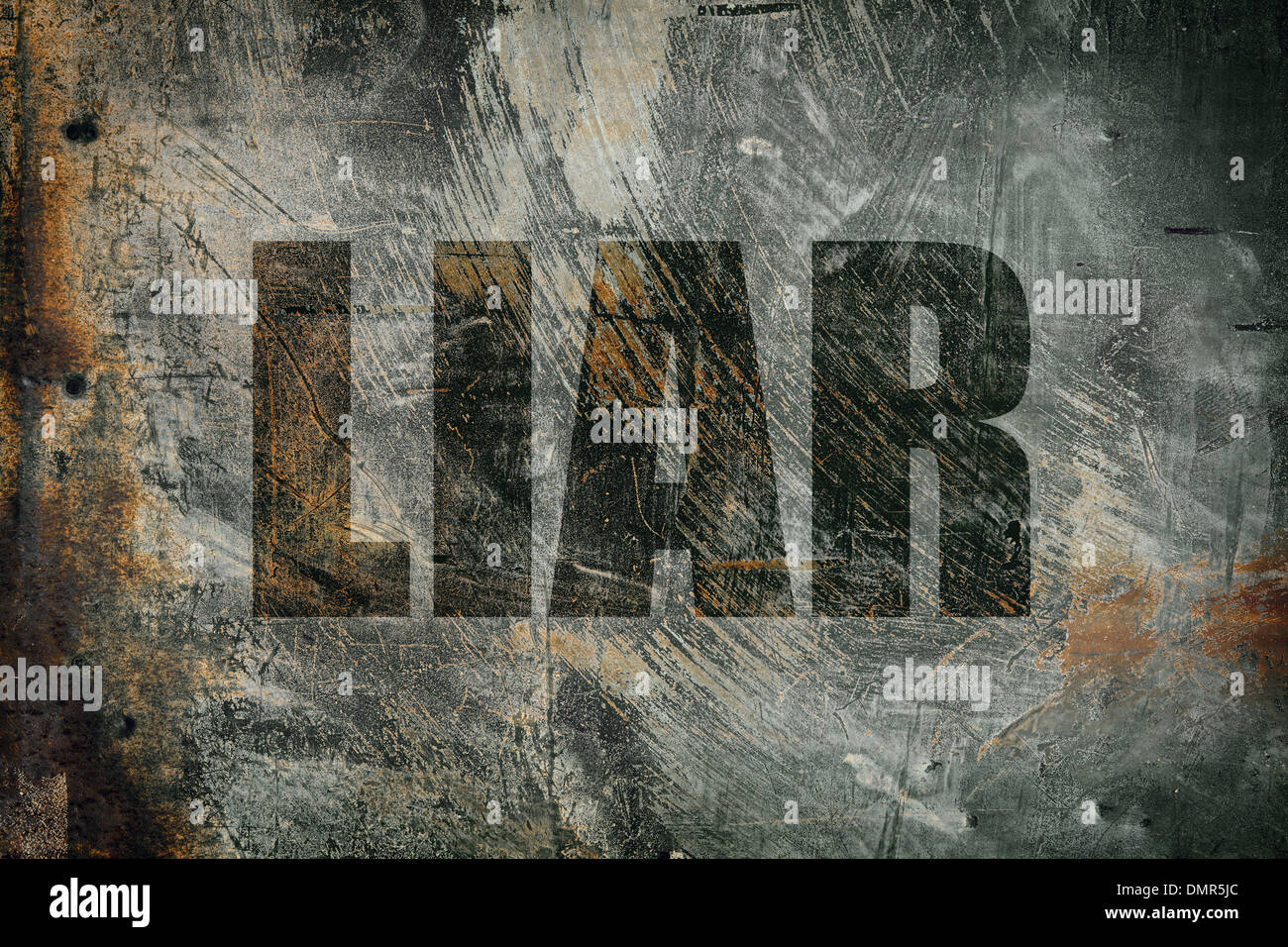 liar - Stock Image