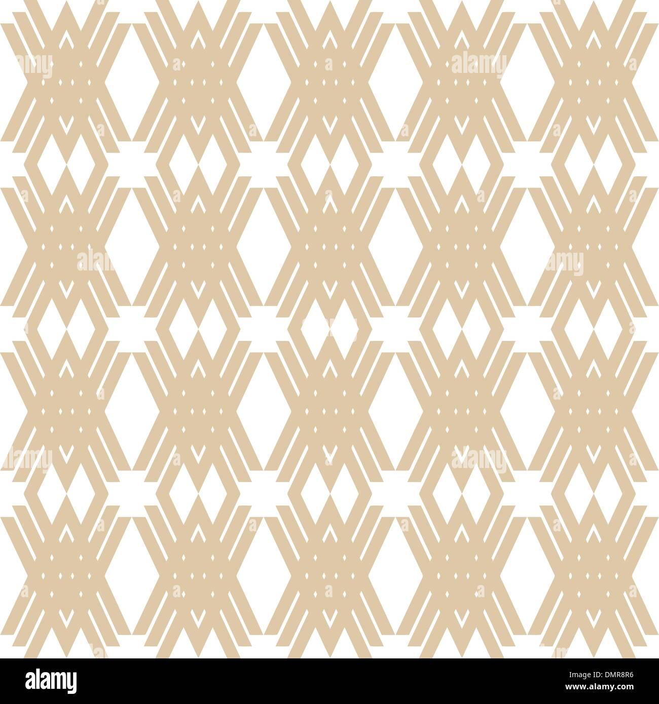 seamless fashion geometric patterns - Stock Image