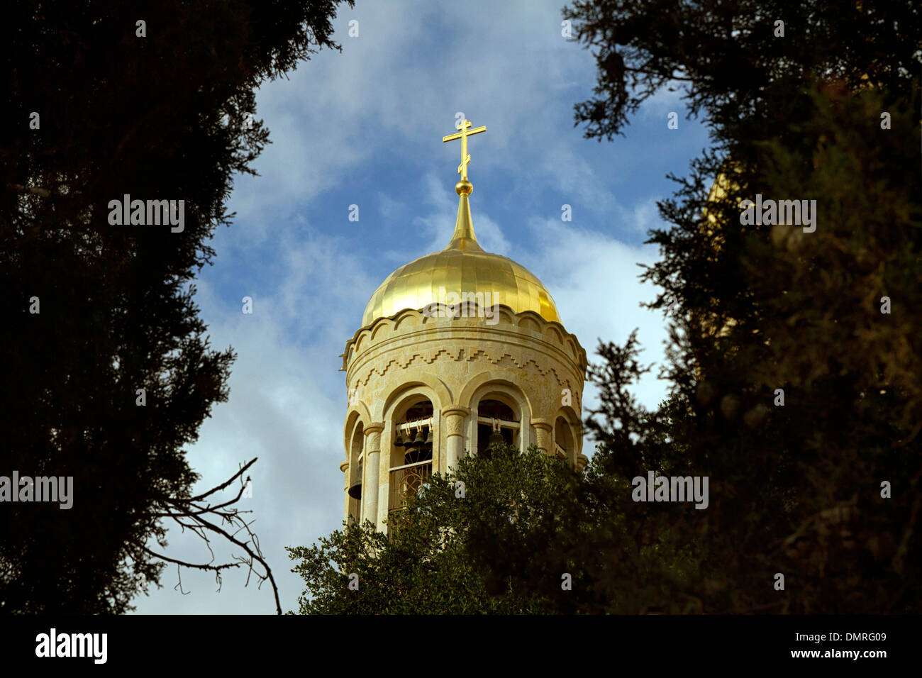 Gornensky Orthodox Monastery of Russian Ecclesiastical Mission in Jerusalem - Stock Image