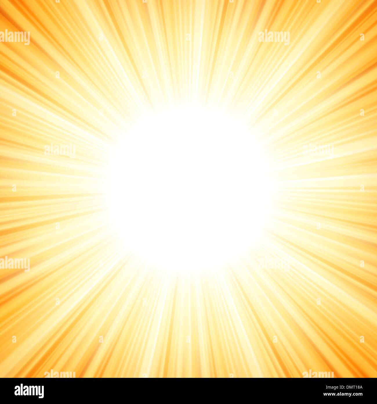 Star burst red and yellow fire. EPS 8 Stock Vector