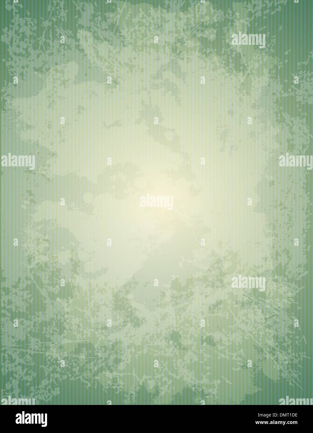 Green old paper texture - Stock Image