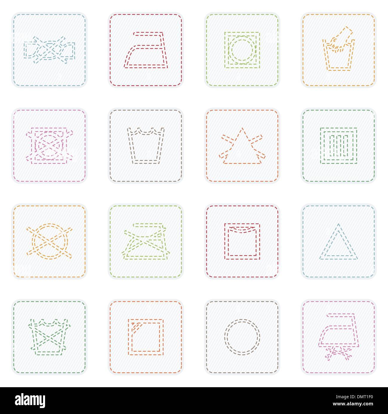 Fabric Care Symbols Stock Photos Fabric Care Symbols Stock Images