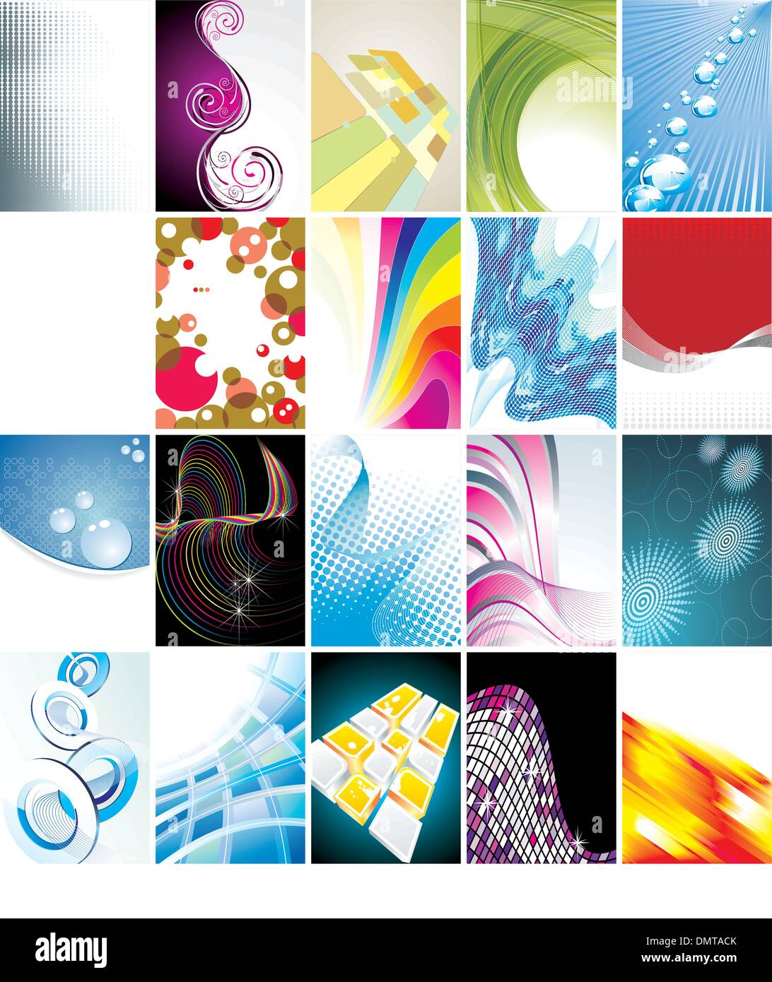 Business Card Collection Stock Vector Art & Illustration, Vector ...