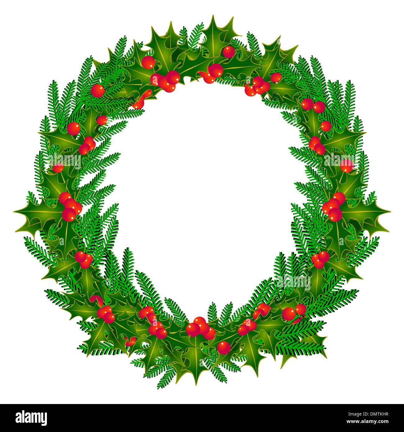 advent wreath - Stock Image