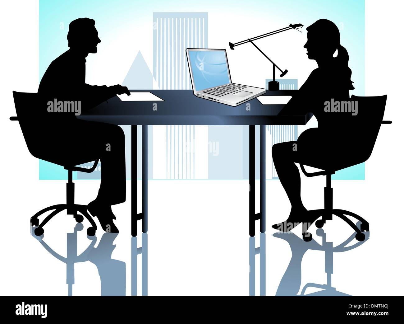 Meeting Consulting - Stock Vector