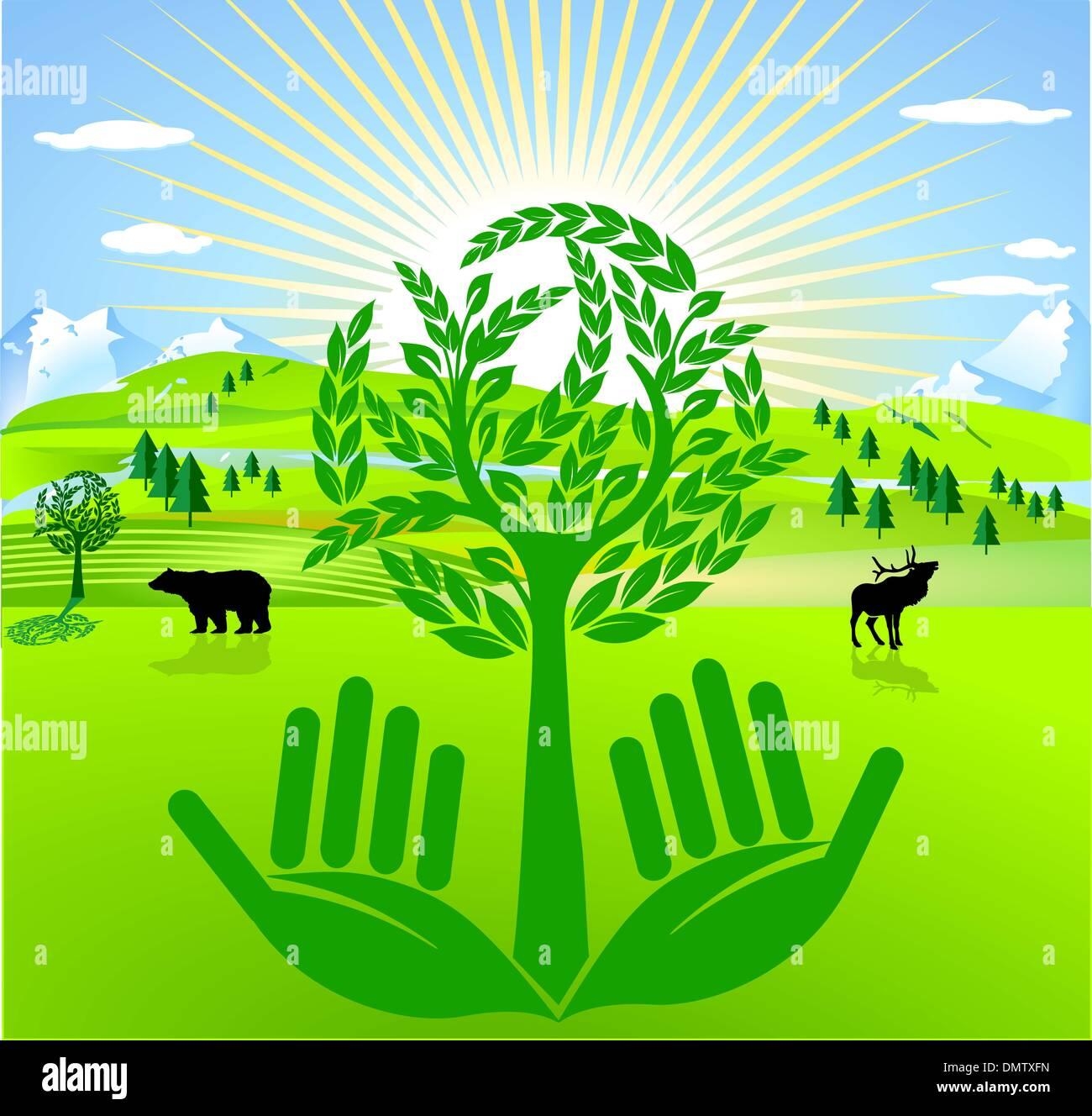 preventive environmental protection - Stock Image