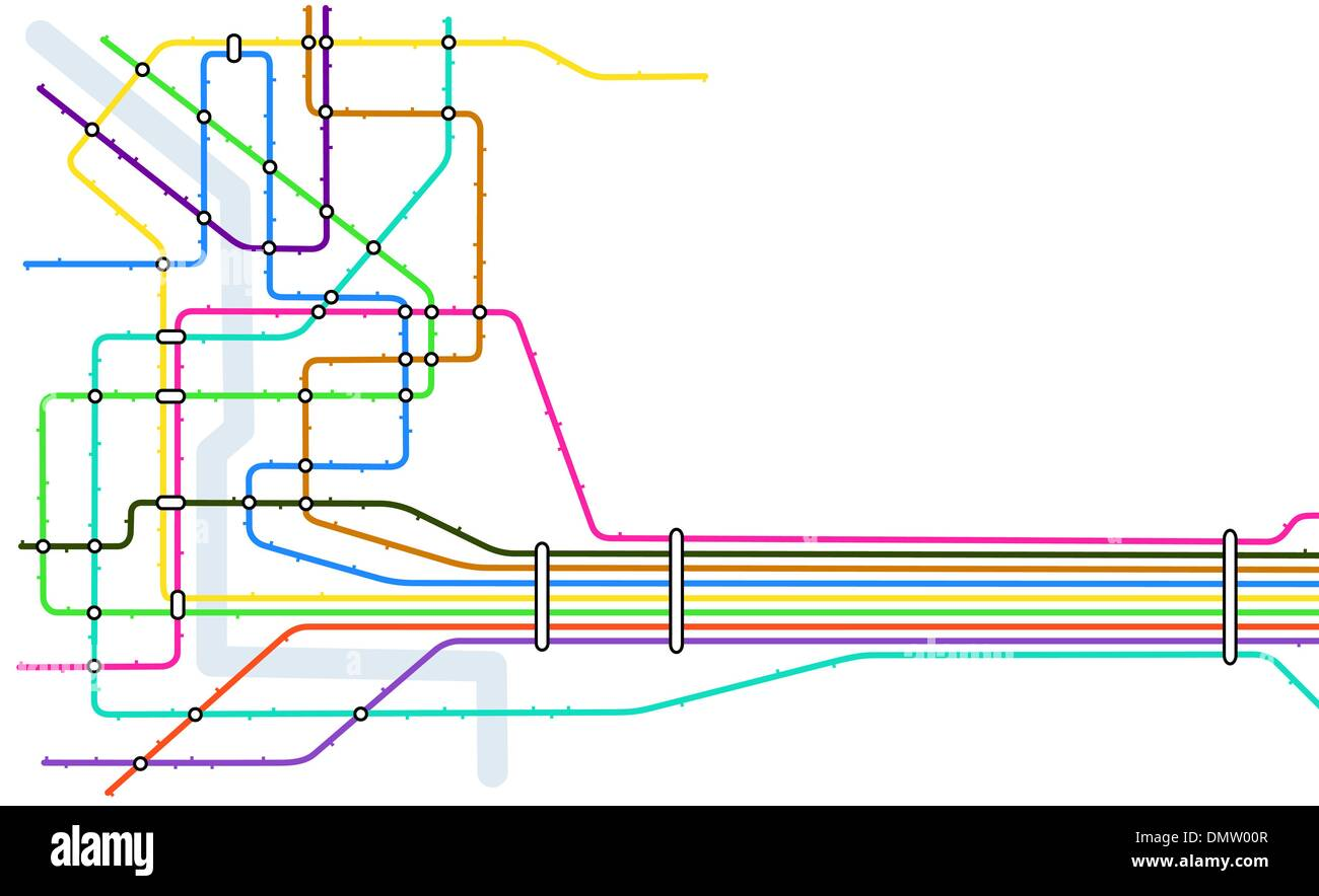 Subway Diagram Stock Photos Images Alamy Wiring Schematic Image