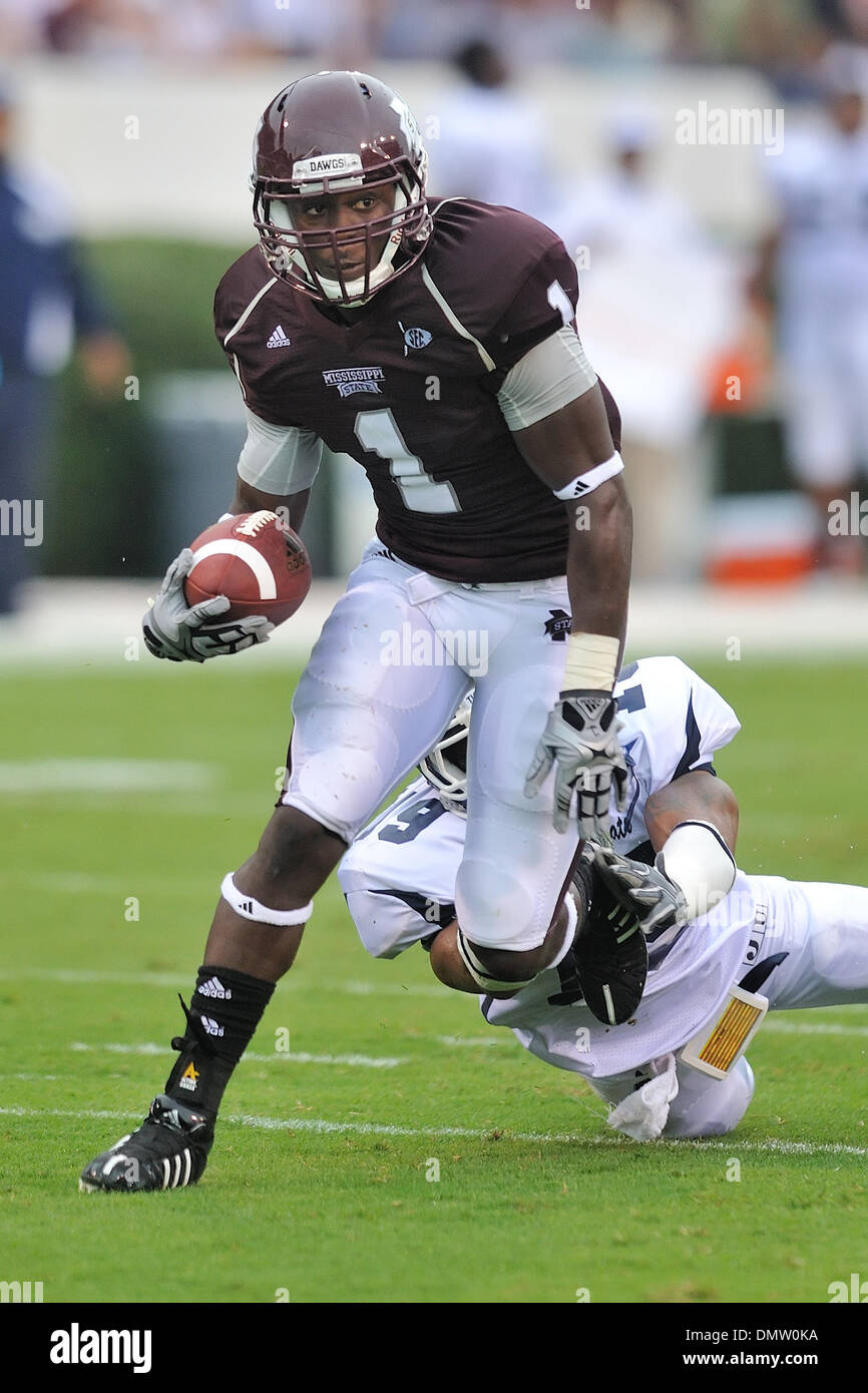 Mississippi State Receiver Chad Bumphis 1 Scores A First Quarter