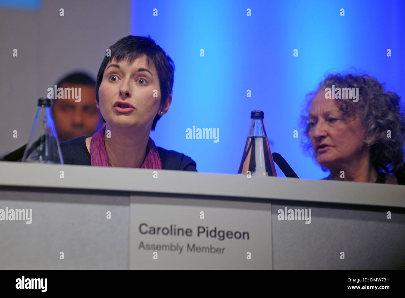 Boris Johnson meets the Londoners at People's Question Time held at Imperial College London 05/11/2013 - Stock Image