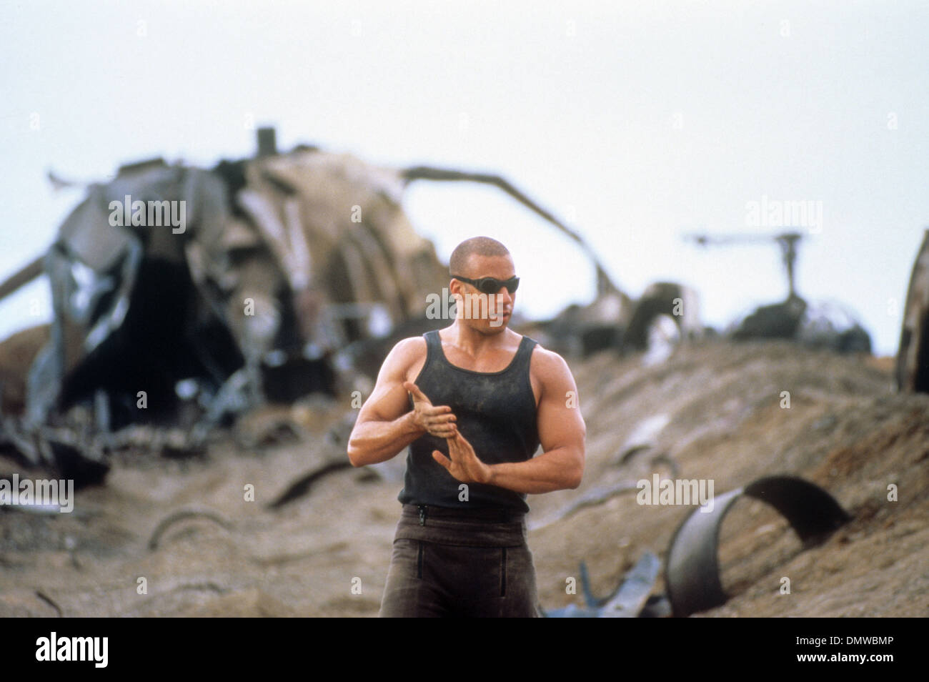 PITCH BLACK  2000 Polygram film with Vin Diesel - Stock Image