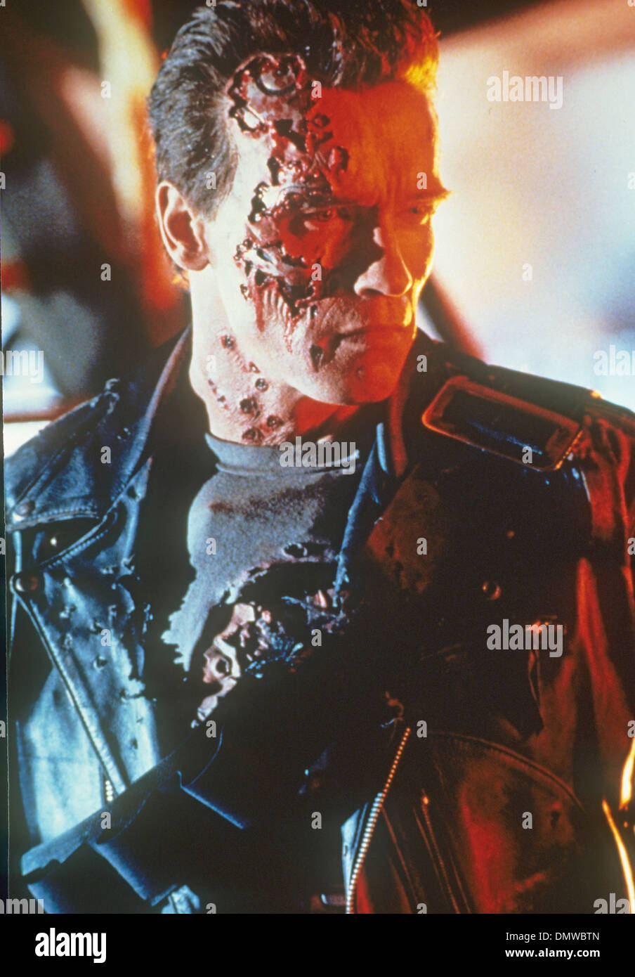 TERMINATOR 2: JUDGEMENT DAY  1991 TriStar film with Arnold Schwarzenegger - Stock Image