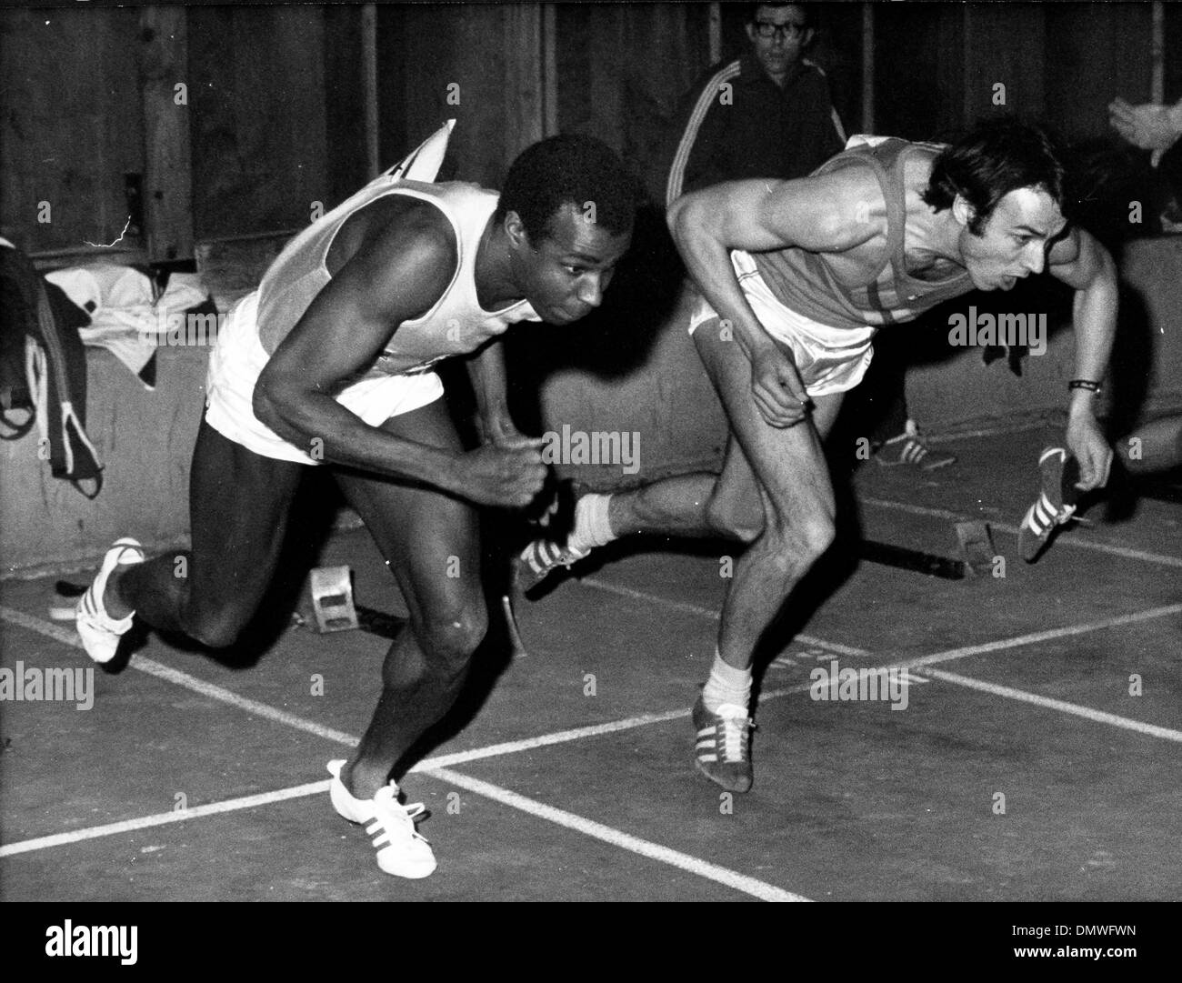 Jun 31, 1968; Paris, France; Runner ROGER BAMBUCK. (Credit Image: © KEYSTONE Pictures USA) - Stock Image