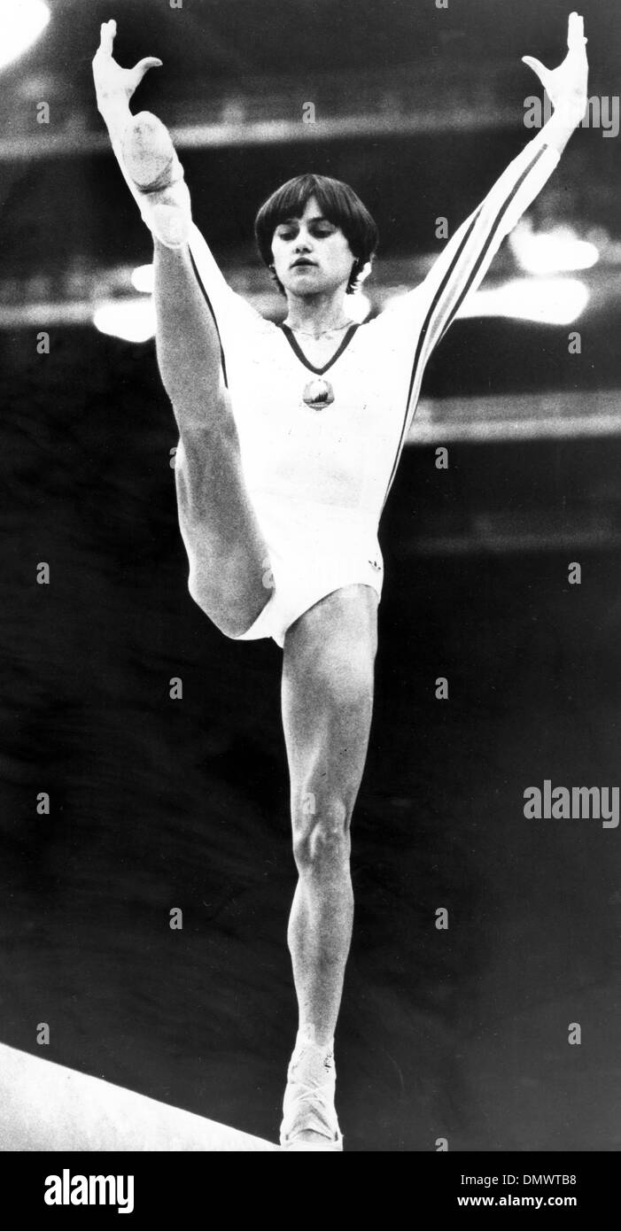 Nadia Comaneci 9 Olympic medals