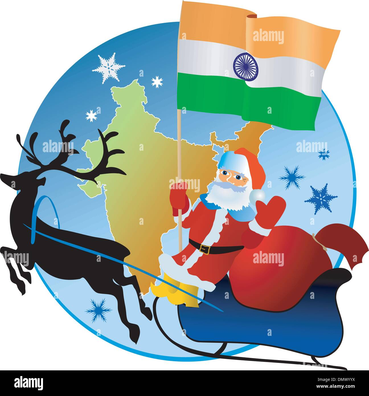 Christmas In India Images.Merry Christmas India Stock Vector Art Illustration